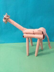 Finished giraffe.