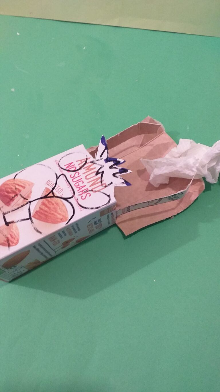 8) Wipe inside of carton that may be still wet.