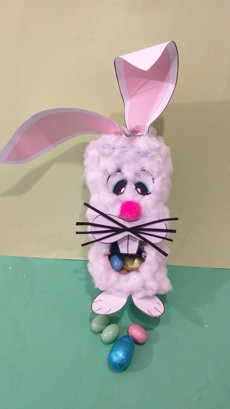 17) This is one finished version with Easter eggs inside the mouth.