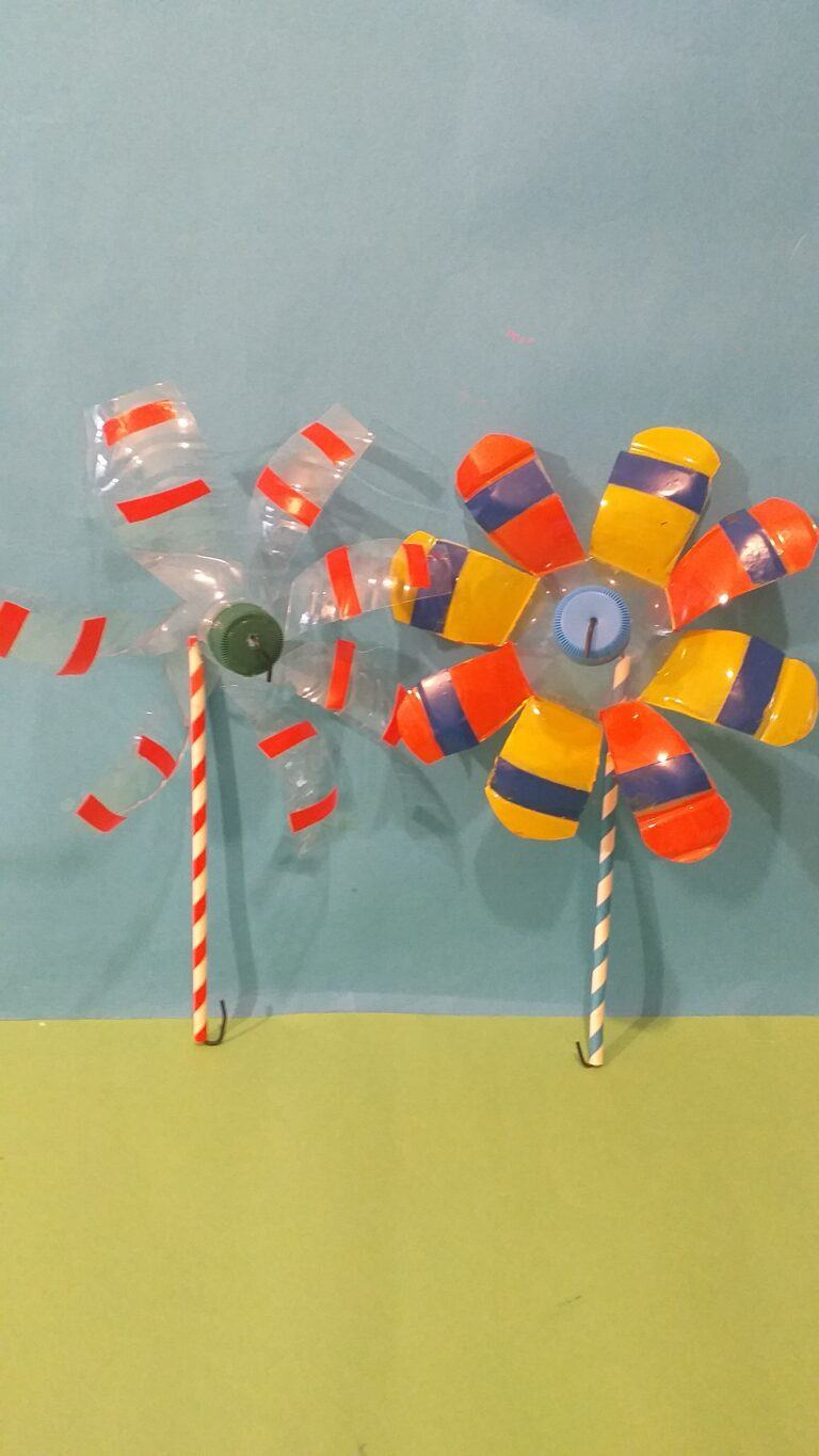 22) Here are the 2 different finished  Windmills.