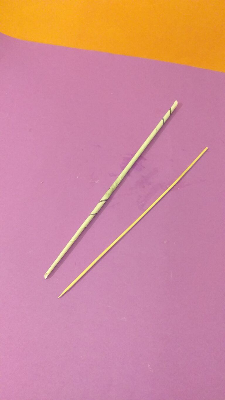7) Pull out the skewer.
