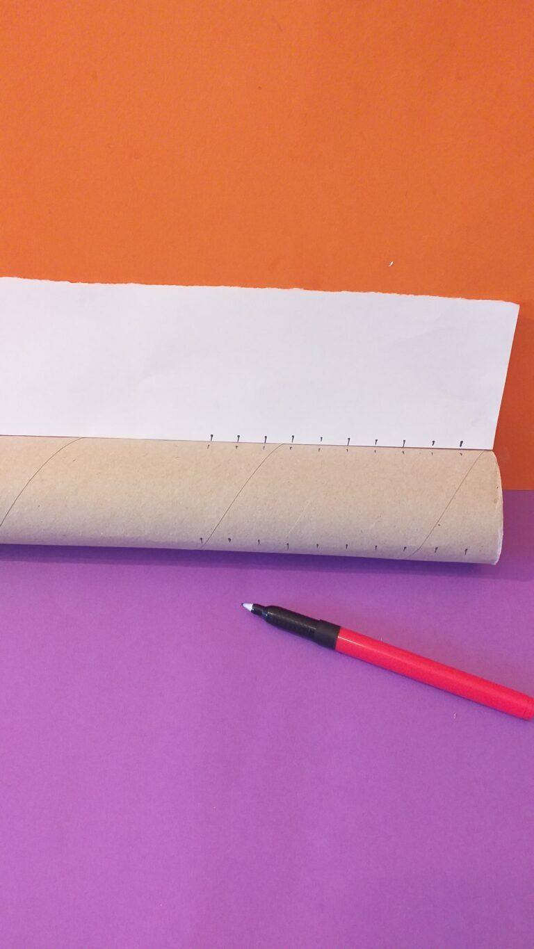 3) Lightly crease it and do the same along the top.